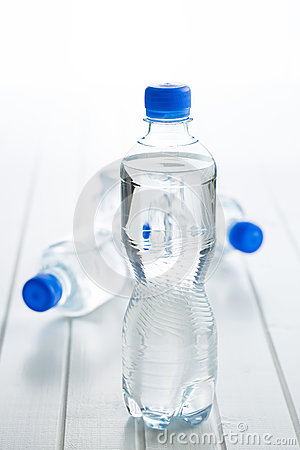 Free Small Plastic Water Bottle. Royalty Free Stock Photos - 82794378