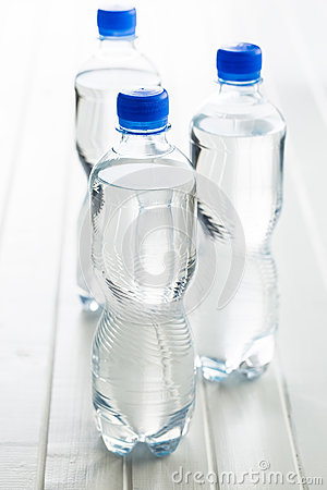Free Small Plastic Water Bottle. Stock Photo - 82794750