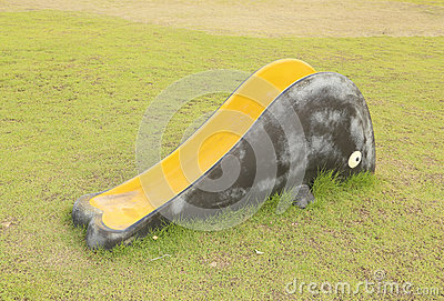 Small playground slider