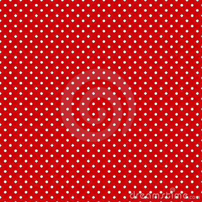 Free Small Polkadots, Red Background, Seamless Background Stock Photos - 5658823