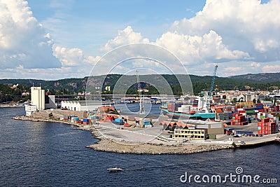 Small port.