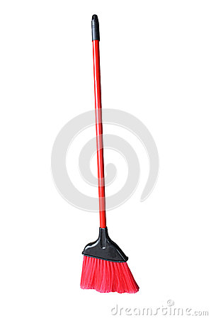 Small Red Broom