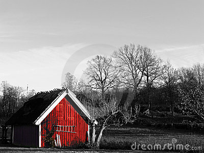 Small Red House