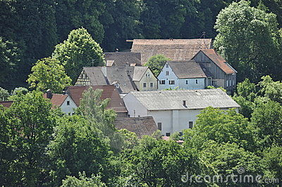 Small Remote Village