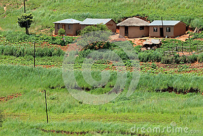 Rural settlement, South Africa