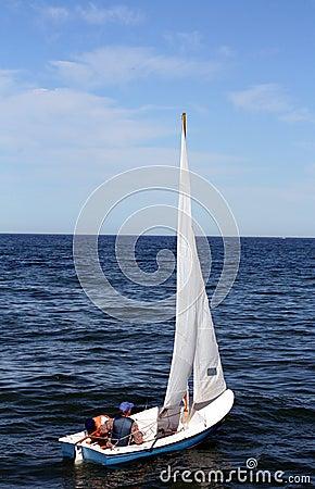 Free Small Sailboat Royalty Free Stock Images - 3884809