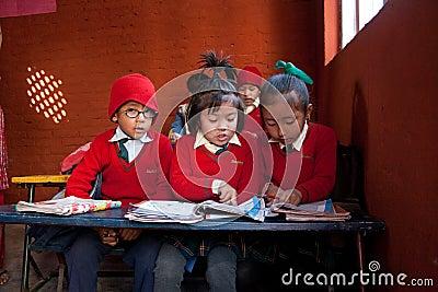In small school Editorial Image
