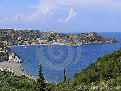A small seaside village in Peloponnese