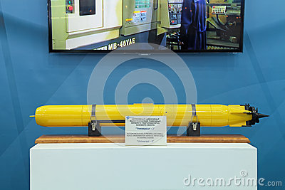 Small-sized underwater scanning sonar Editorial Stock Image