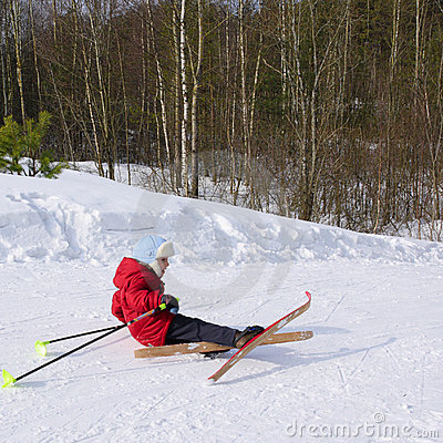 The small skier