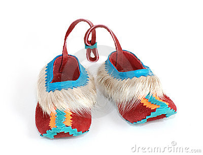 Small souvenir slippers