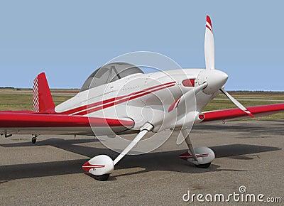Small sport aerobatic sport airplane.