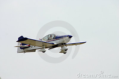 Small sporting Airplane Editorial Stock Image