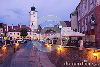 Small Square in Sibiu.
