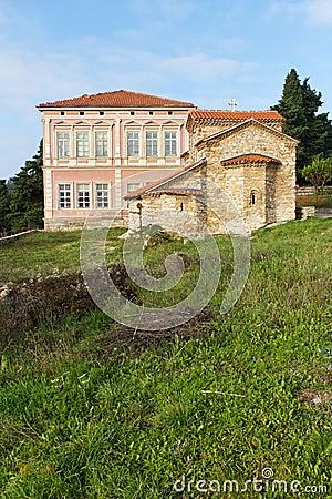 Free Small Stone Church In Ohrid, Macedonia Royalty Free Stock Photo - 17004475