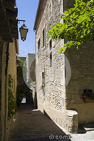 Small street in Bonnieux