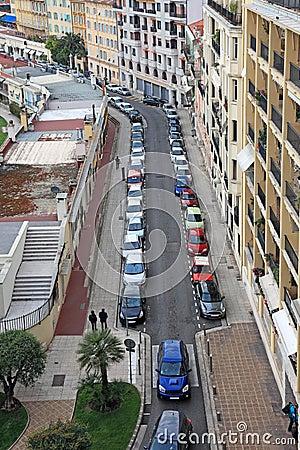 Small street of Nice city.