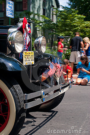 Small town 4th of July Parade Editorial Stock Image