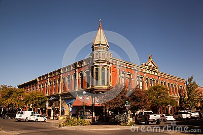 Small town America Editorial Stock Image