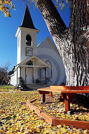 Free Small Town Church Royalty Free Stock Photography - 5202067