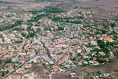 Small town in Cyprus