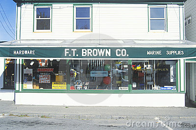 Small-town hardware store Editorial Photography