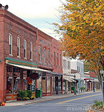 Small Town Main Street 1