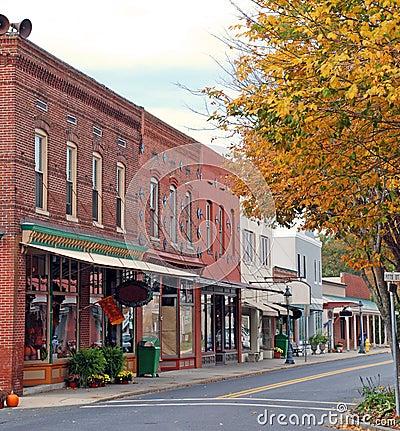 Small Town Main Street 1
