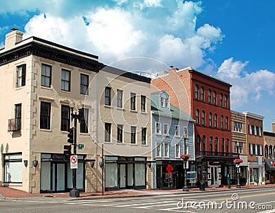 Small Town Main Street 4