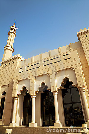 Small Town Mosque at Dubai, UAE