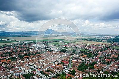 Small town in Romania