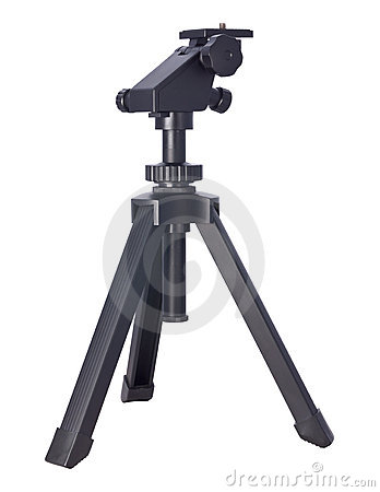 Small Tripod (with clipping path)