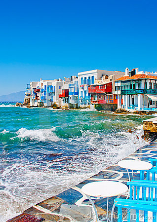 Free Small Venice In Mykonos Island Greece Royalty Free Stock Photos - 22718418
