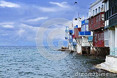 The small Venice of Mykonos island