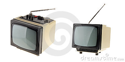 Small vintage TV