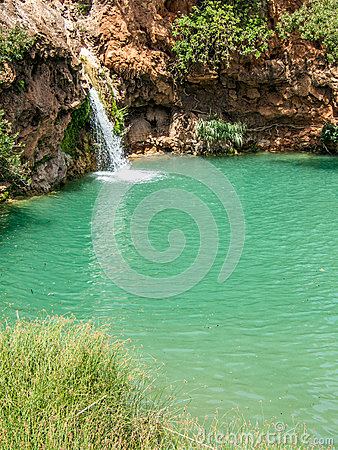 Free Small Waterfall In Pego Do Inferno Royalty Free Stock Photos - 80230488