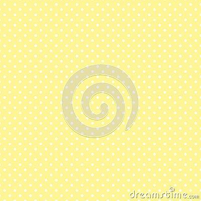 Free Small White Polka Dots On Pastel Yellow Stock Photos - 5659143