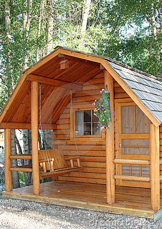 Small wood cabin