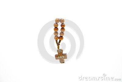 Small Wood Cross Stock Image - Image: 17546581