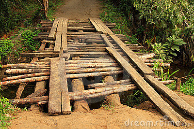 small wooden bridges