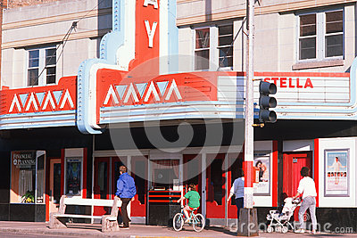 Smalltown Movie Theatre, Stock Images - Image: 25964694