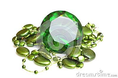 Smaragd en beeds