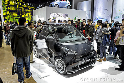 SMART Brabus Editorial Image