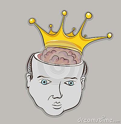 Smart brain person