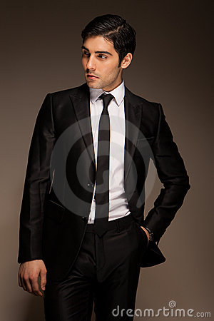 Free Smart Businessman Waiting Royalty Free Stock Photography - 22823957