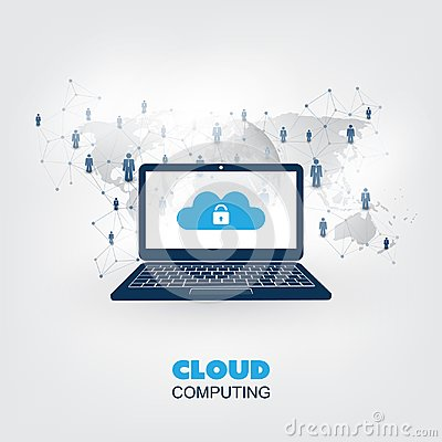 Free Smart City, Internet Of Things Or Cloud Computing Design Concept - Digital Network Connections, Technology Background Stock Photography - 117065852
