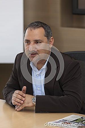 Smart City Malta CEO Editorial Stock Photo