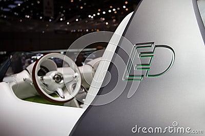 Smart Forspeed Concept - Geneva Motor Show 2011 Editorial Image