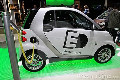 The Smart ForTwo EV Editorial Photography