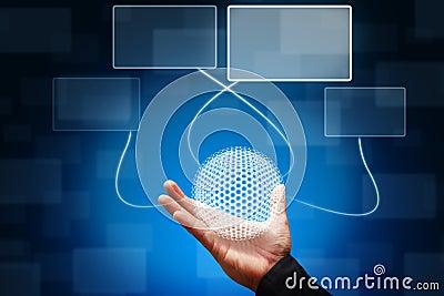 Smart hand hold nano ball